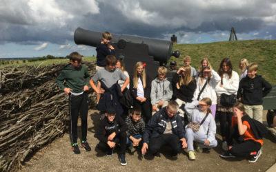 8. klasse er netop vendt hjem fra Sønderborg