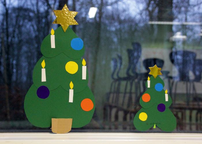 God julestemning på Kolding Friskole.